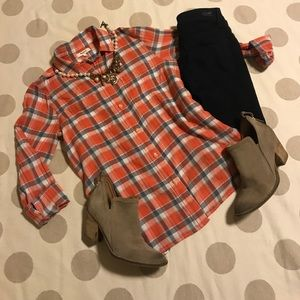 Madewell button down flannel